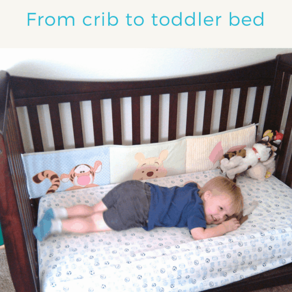 Transitions: Moving from a crib to a toddler bed