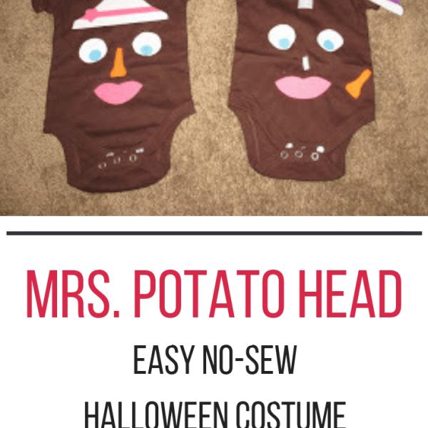 How to: Baby Mrs. Potato Head Costume