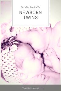 Everything You Need for Newborn Twins. #twins #newborn #supplies #gear