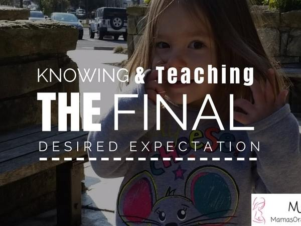 Knowing and Teaching the Final Desired Expectation-BFBN