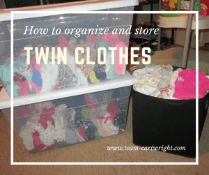 How To Organize And Store Twin Baby Clothes Simple Tips To Try