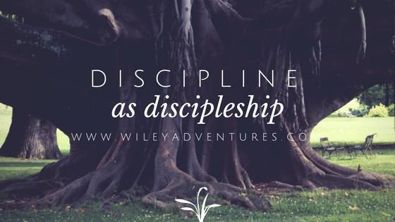 Discipline As Discipleship-BFBN