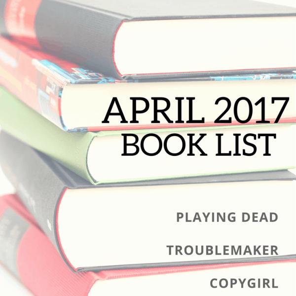 April 2017 Book List