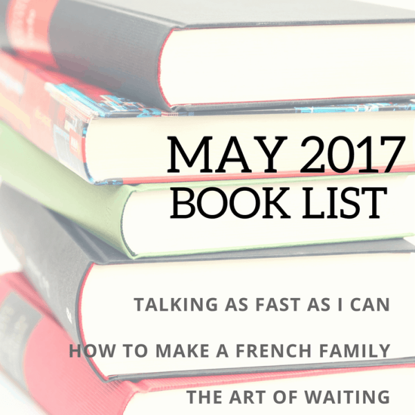 May 2017 Book List