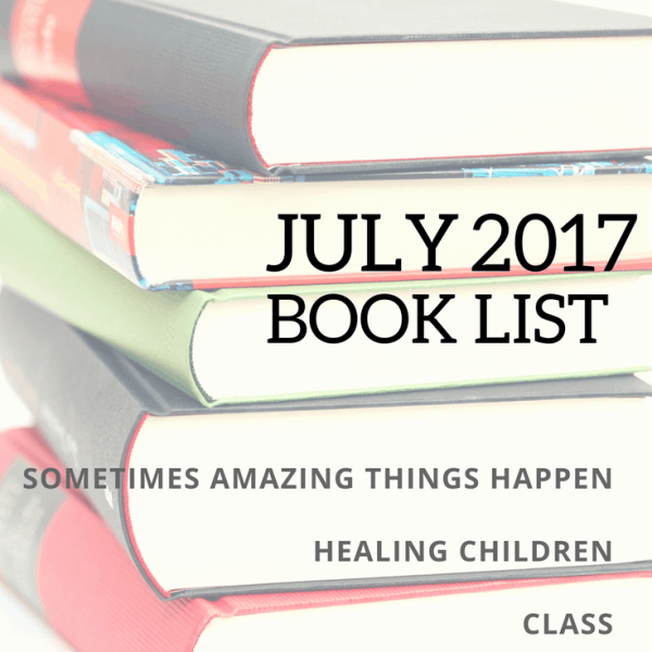 July 2017 Book List