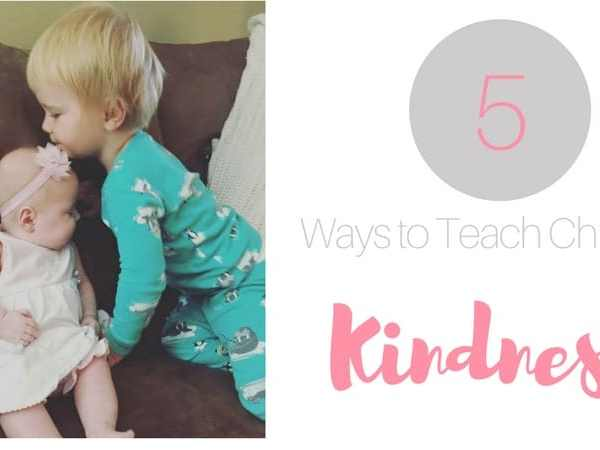 5 Ways to Teach Children Kindness