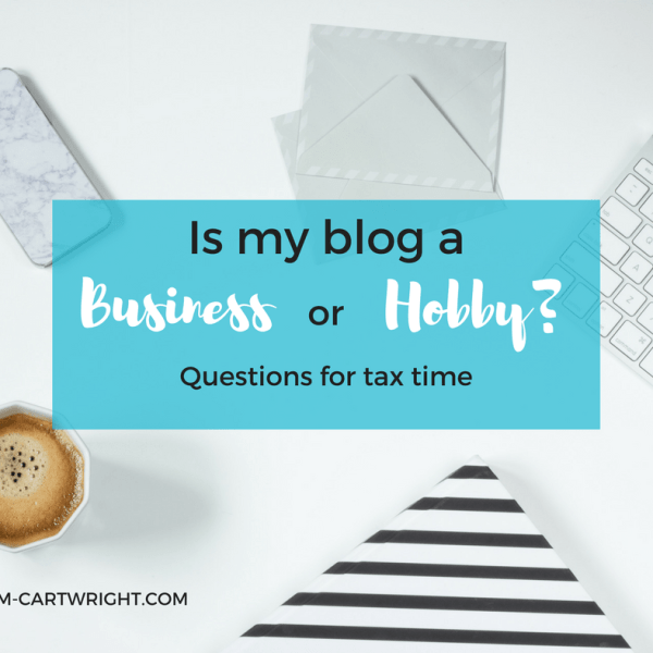 Is My Blog a Business or a Hobby?