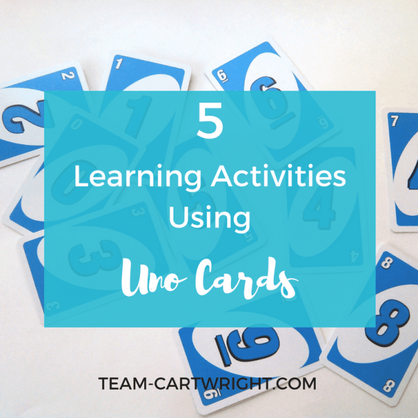 5 Learning Activities Using Uno Cards