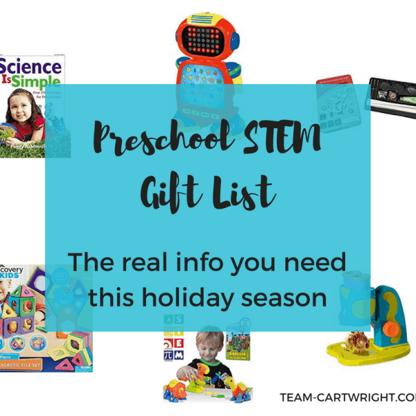 The Real Preschool STEM Gift List You Need