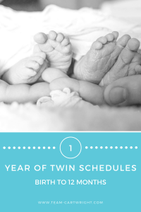 One year of sample baby schedules to help you out.