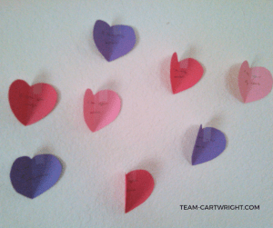 Teaching Your Children Valentine's Day is More Than Just Romance. #kids #emotional #development #easy #Valentine #craft #activity #toddler #preschooler Team-Cartwright.com