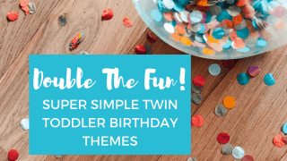 Double The Fun: Super Simple Twin Toddler Birthday Themes