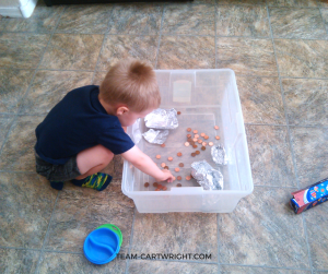 Looking for some easy and fun St. Patrick's Day STEM activities? Here are four fun options for preschoolers and toddlers. There is minimal prep and very little clean up. Learn, have fun, and enjoy the holiday! STEM Activity   Kid craft   Learning   Homeschool   St. Patrick's Day Activity for kids #toddler #preschooler #kid #activity #STEM #science #learning Team-Cartwright.com