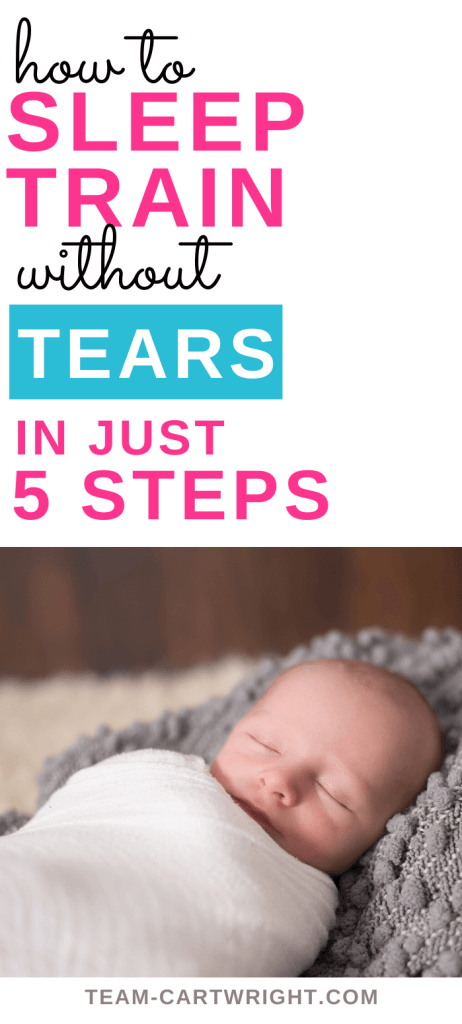 how to sleep training without tears