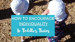 How To Encourage Individuality in Toddler Twins