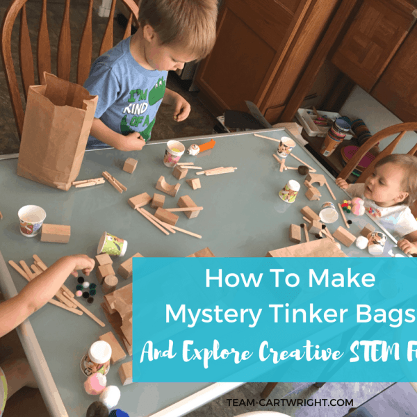 How To Make Mystery Tinker Bags and Explore Creative STEM Fun