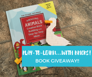 Legos are an amazing STEM toy that can last for years. Learn-To-Play…With Bricks teaches kids of all ages how to make fun shapes and animals. Learn why these are amazing books and how to win one! Learning Activity | Legos | Preschooler Learning | Learn at home #learningactivity #preschool #kids #Lego #STEM #toy #review