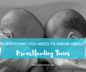 Breastfeeding Twins FAQ. Answers to all your questions when it comes to breastfeeding twins. Breastfeeding Twins | Nursing Twins | Feeding newborn twins | Twin feeding #breastfeeding #twins #nursing #newborns #faq Team-Cartwright.com