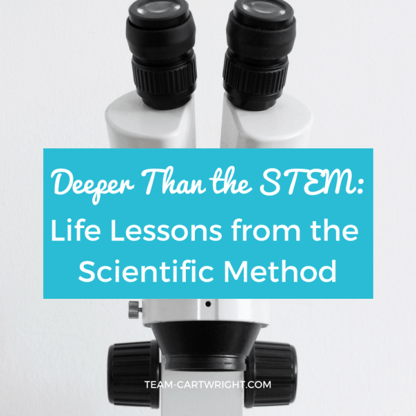 Deeper Than the STEM: Life Lessons from the Scientific Method