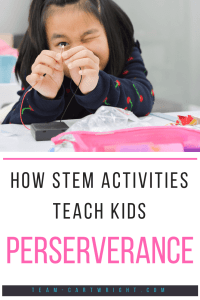 Teaching children about science is about so much more than just memorizing facts.  It's about critical thinking, perseverance, accepting failure, and more.  There are real life lessons found in the scientific method.  #lifelessons #kids #toddlers #preschoolers #values #teachingvalues #positiveparenting Team-Cartwright.com