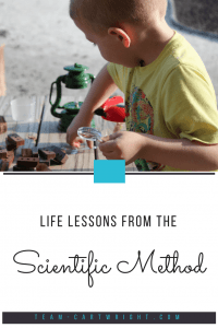 Teach your children the importance of integrity through the scientific method. Why this is an important topic for kids. #kidSTEM #kidscience #toddlerscience #preschoolscience #morallessonsforkids #lifelessons #positivparenting Team-Cartwright.com