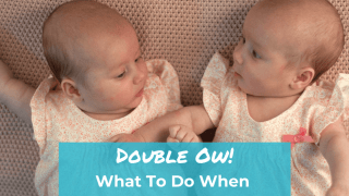 Double Ow! What To Do When Your Breastfeeding Twins Bite