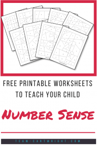 Free coloring worksheets to work on number sense! #coloring #printable #free #toddler #preschool #kids #number #sense #math Team-Cartwright.com