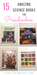 The best STEM books for preschoolers and toddlers. Everything from space to dinosaurs, life science to projects. Inspire your kids with STEM. #preschool #toddler #books #picturebooks #boardbooks #sciencebooks #STEMbooks Team-Cartwright.com