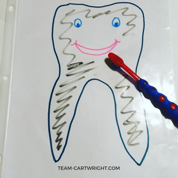 Preschool Tooth Brushing Activities