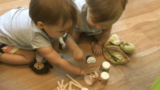 Solitary Play: How To Do Independent Play with Twins
