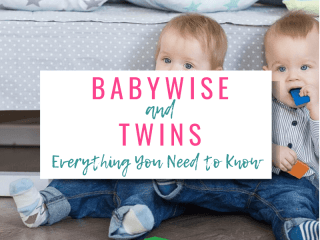 Babywise and Twins Everything You Need To Know with picture of twins