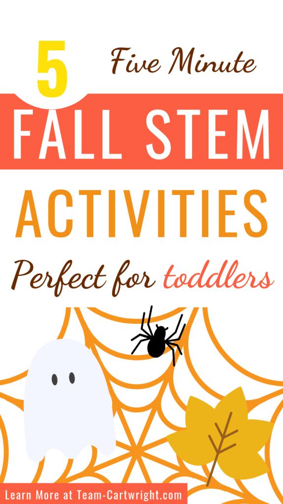 Fall STEM for kids