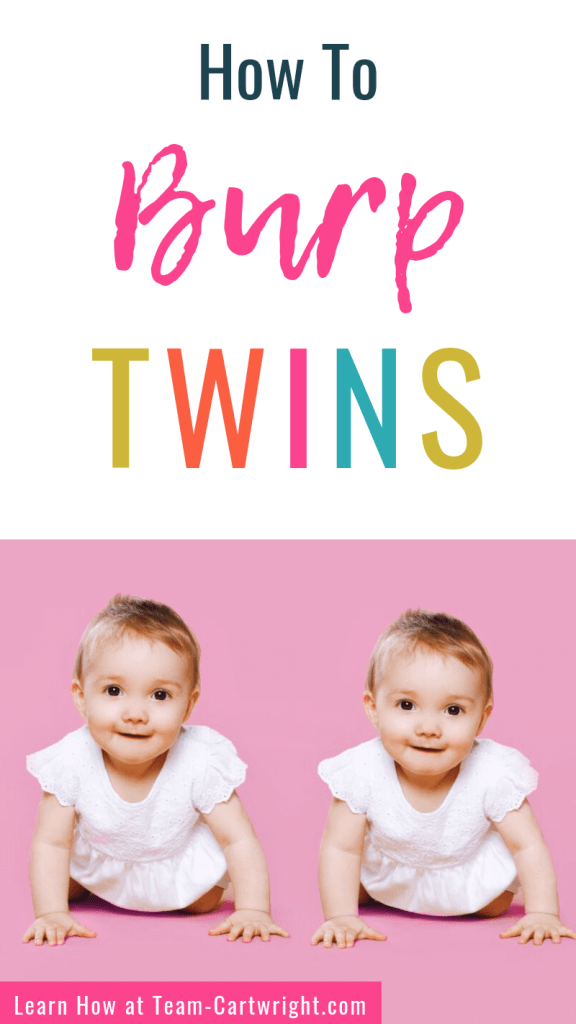 How to burp twins