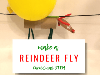 Make a Reindeer Fly: Christmas STEM