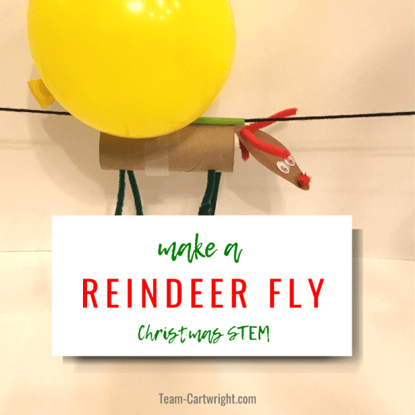 Flying Reindeer: Christmas STEM for Kids