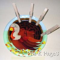 Turkey Math Activities   Thanksgiving   Preschool