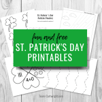 St. Patrick's Day Worksheets for Learning Fun!