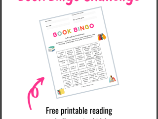 Book Bingo Reading Challenge for Kids