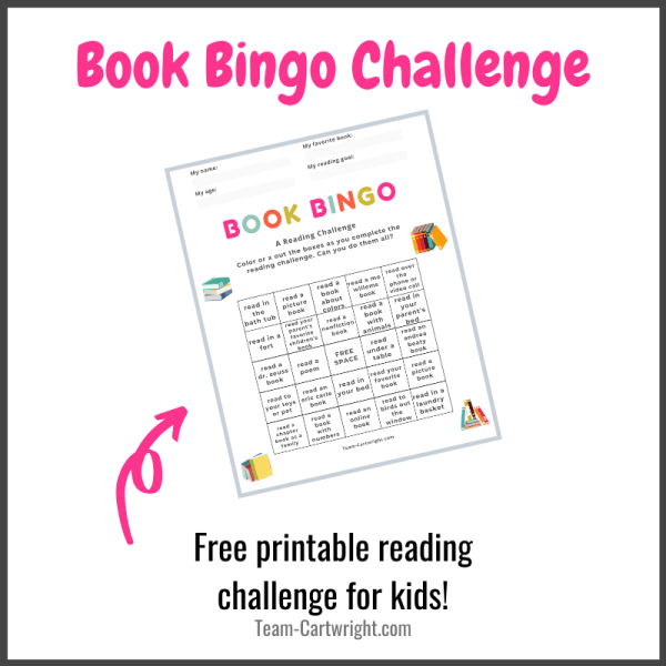 Book Bingo Reading Challenge