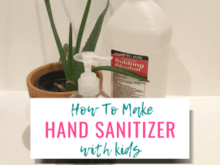 How to Make DIY Hand Sanitizer with Kids