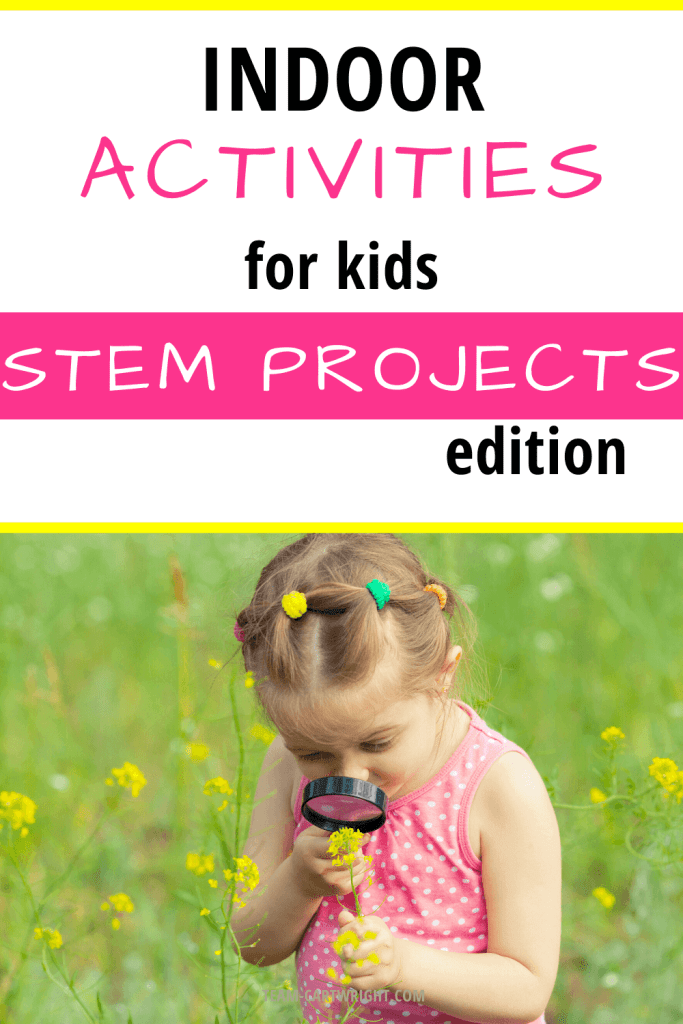 indoor activities for kids STEM projects for at home fun