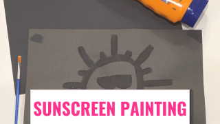 Sunscreen Painting: STEAM For Kids