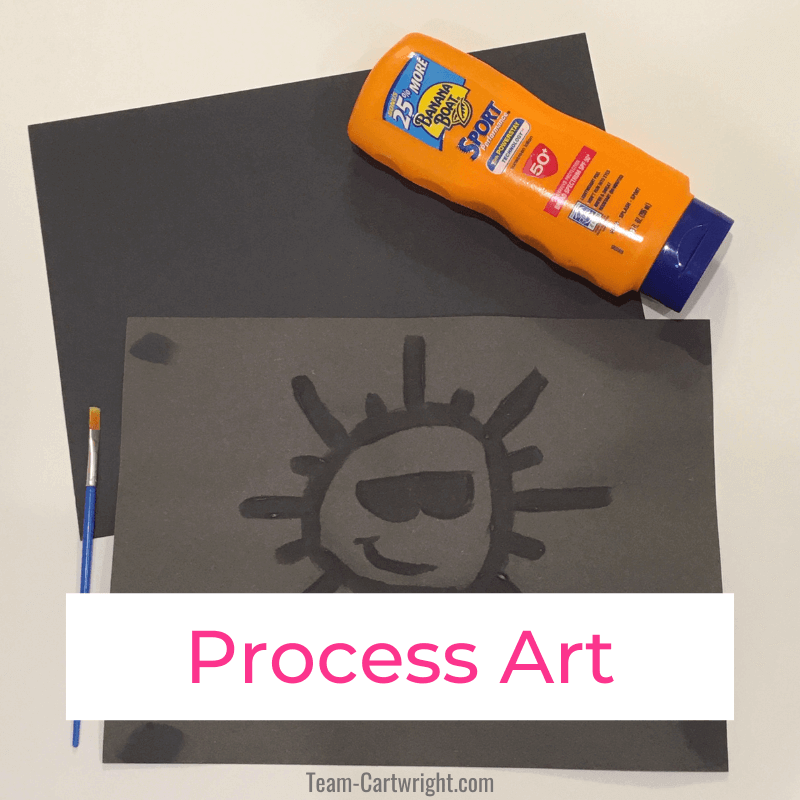 Process Art Activities for Kids