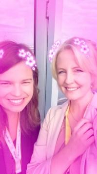 Team-HR auf Snapchat