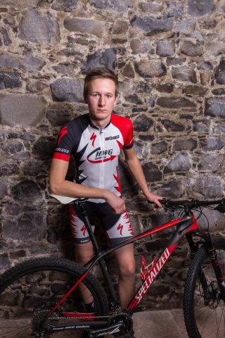 Team HWG Gedern Luke Hirl bike