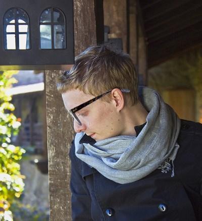 ウェリントン型メガネ