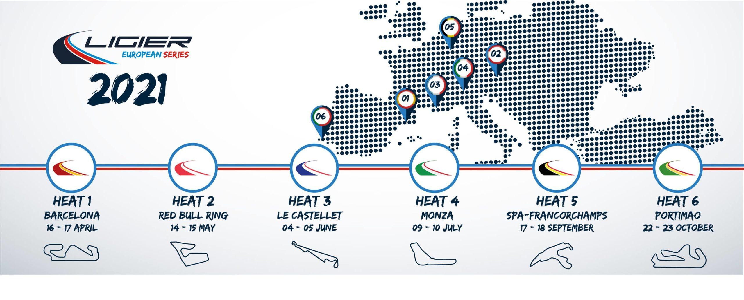 Ligier European Series 2021