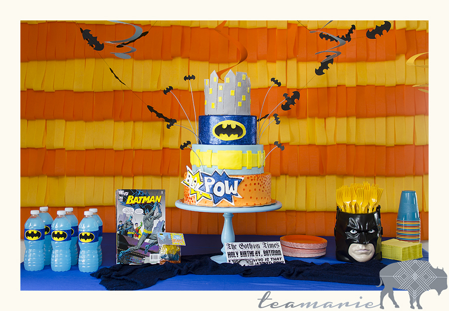 I designed the cake but it was made by Vanilla House Bakery. I designed all the graphic items, the drink labels, the invitation, the treat labels.