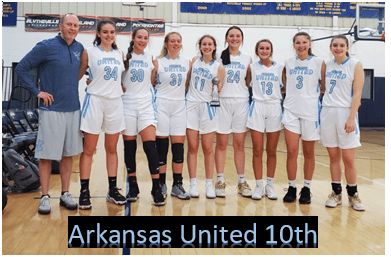 Arkansas United 10th