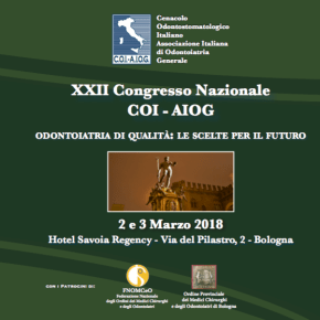 2-3 marzo: XXII Congresso Nazionale COI – AIOG